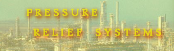 "Click here to enter section on ""PRESSURE RELIEF SYSTEMS"""