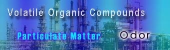 "Click here to enter the section on ""VOC, PARTICULATE MATTER & ODOR"""