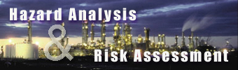 "Click here to enter section on ""Hazard Analysis & Risk Assessment"""
