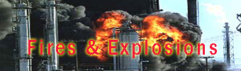 "Click here to enter section on ""FIRES & EXPLOSIONS"""